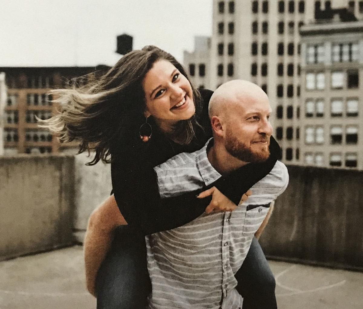 Samantha Clark and Eric Schwindler
