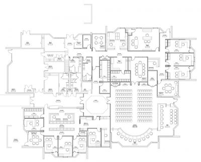 Revised floor plan