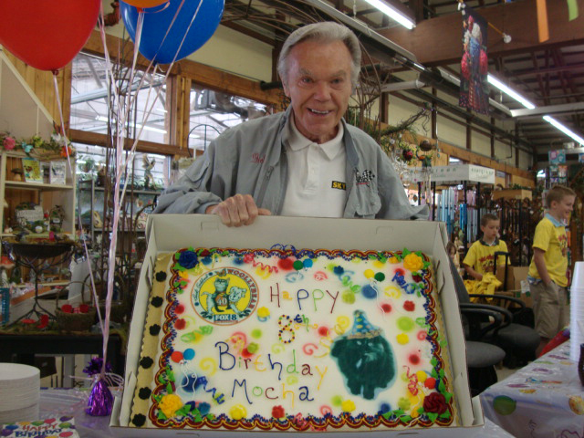 birthday party is the cats meow at gales garden center - Gales Garden Center