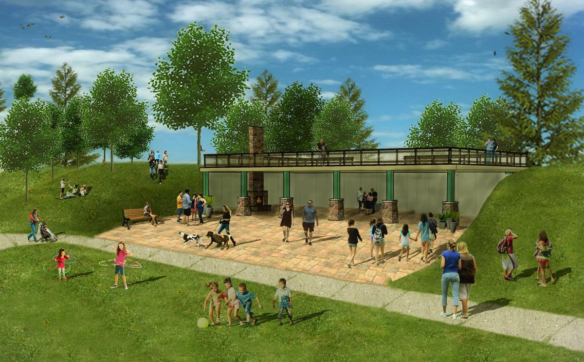 City Green pavilion
