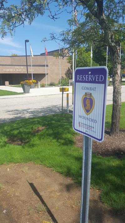 Purple Heart parking