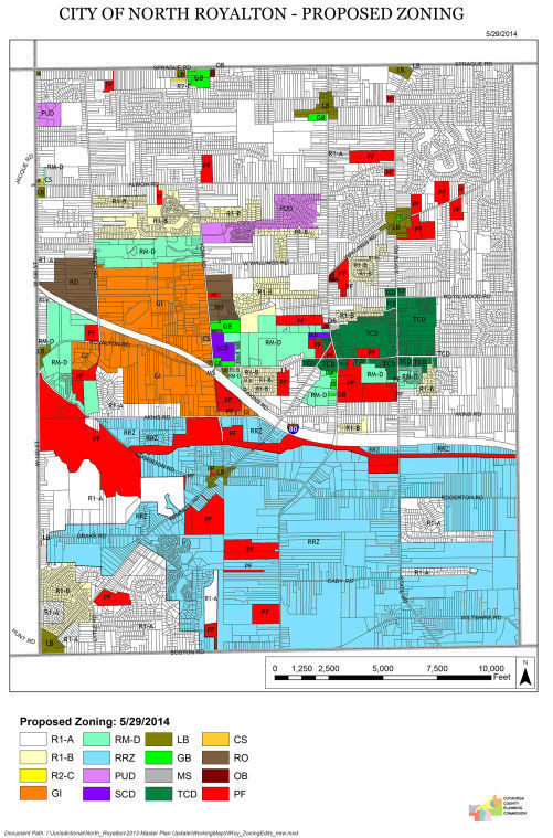 Several zoning revisions planned for november ballot north proposed zoning map gumiabroncs Image collections
