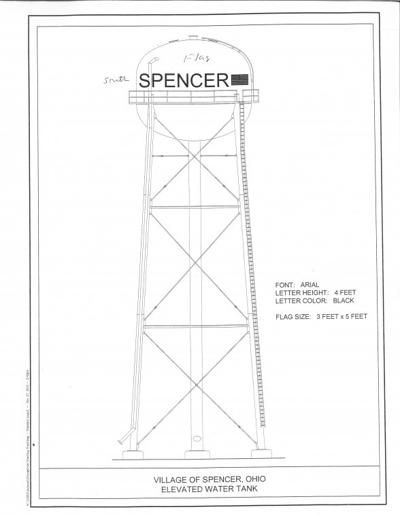 Water tower is under construction in Spencer | Southern Medina