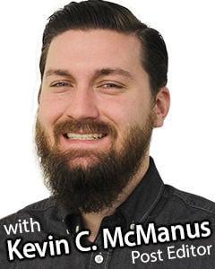 Medina Editor Kevin McManus