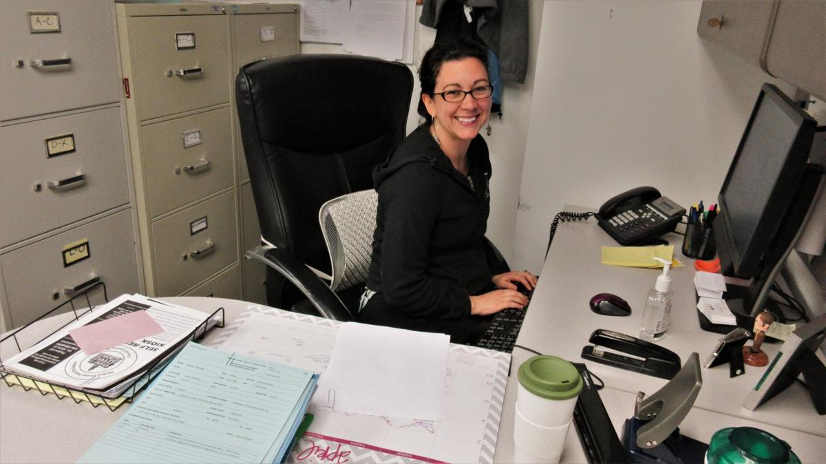 cramped office space. Cramped Office Space. Probation Officer Stephanie Theus Works In A Which Her Chair Space