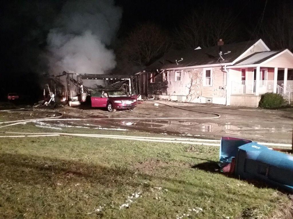 Fire breaks out in Norton