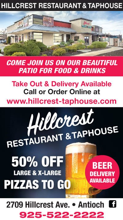 50% OFF Large & X-Large Pizzas To Go at Hillcrest Restaurant & Taphouse