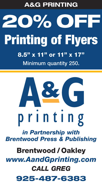 20% OFF Printing of Flyers at A&G Printing