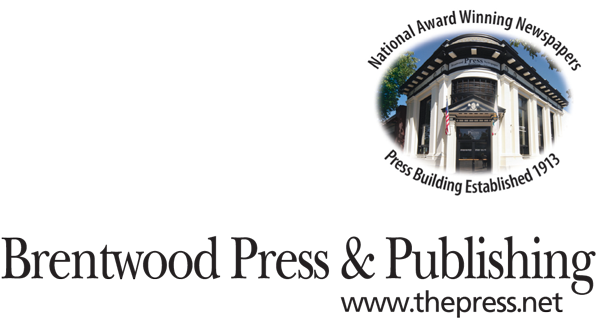 Brentwood Press & Publishing logo
