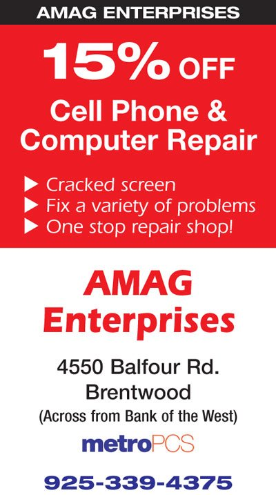 15% off Cell Phone & Computer Repair at AMAG Enterprises