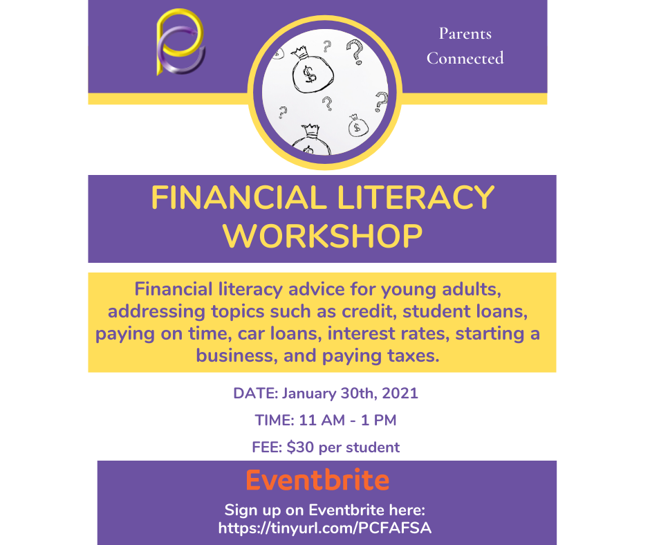 Parents Connected: Financial Literacy Workshop image 1
