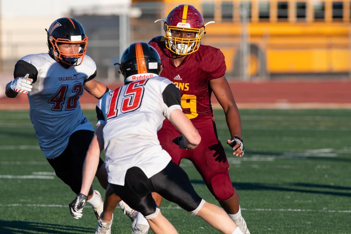 Liberty High School trounces Vacaville in football season