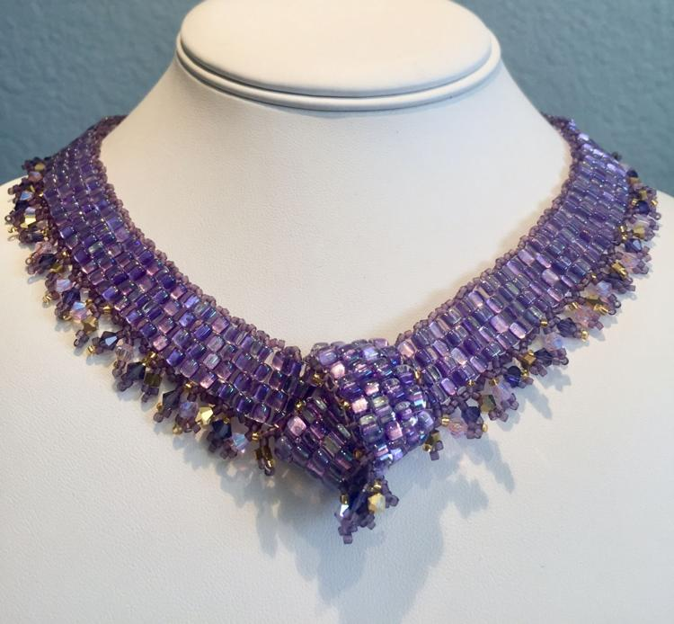 Peyote Weave Necklace