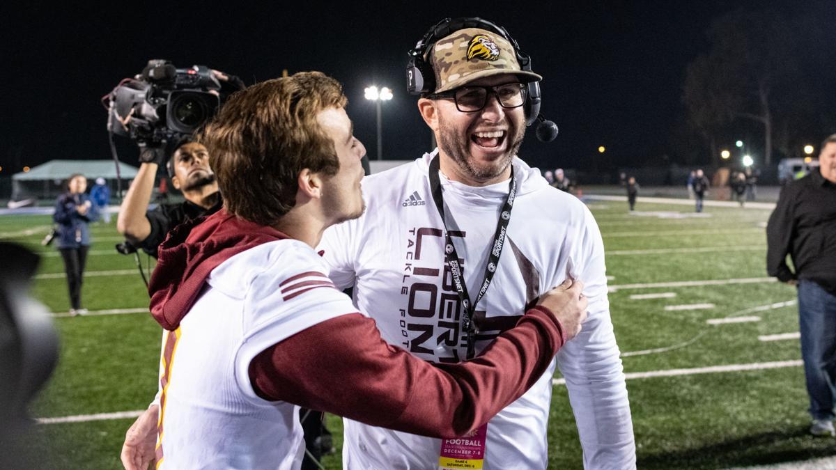 [Photos] Liberty Football CIF State Champtionship post-game