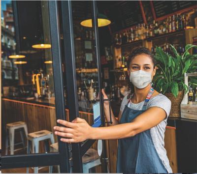 Masked shopkeeper