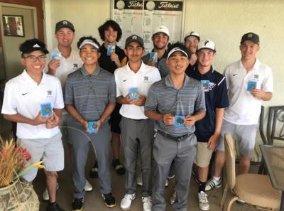 Heritage boys' golf team