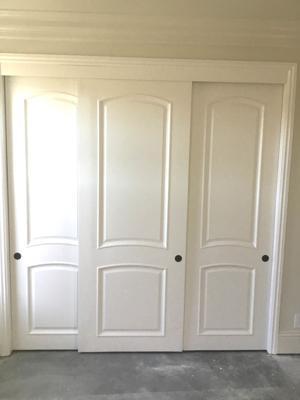 Custom Closet doors 1