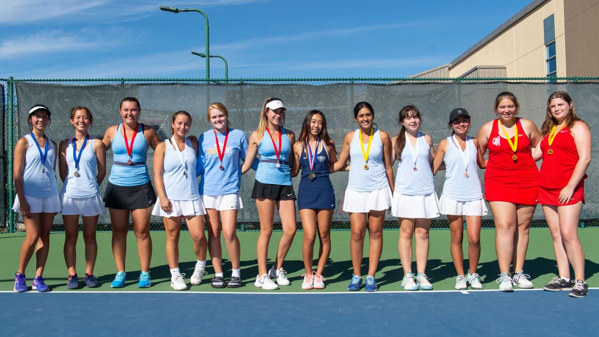 [Photos] Bay Valley Athletic League girls' tennis championships