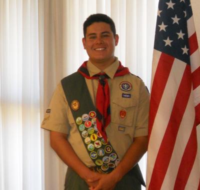 Eagle Scout Mauricio A. Baltrons