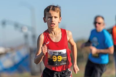 New Year's run - Connor Buscho