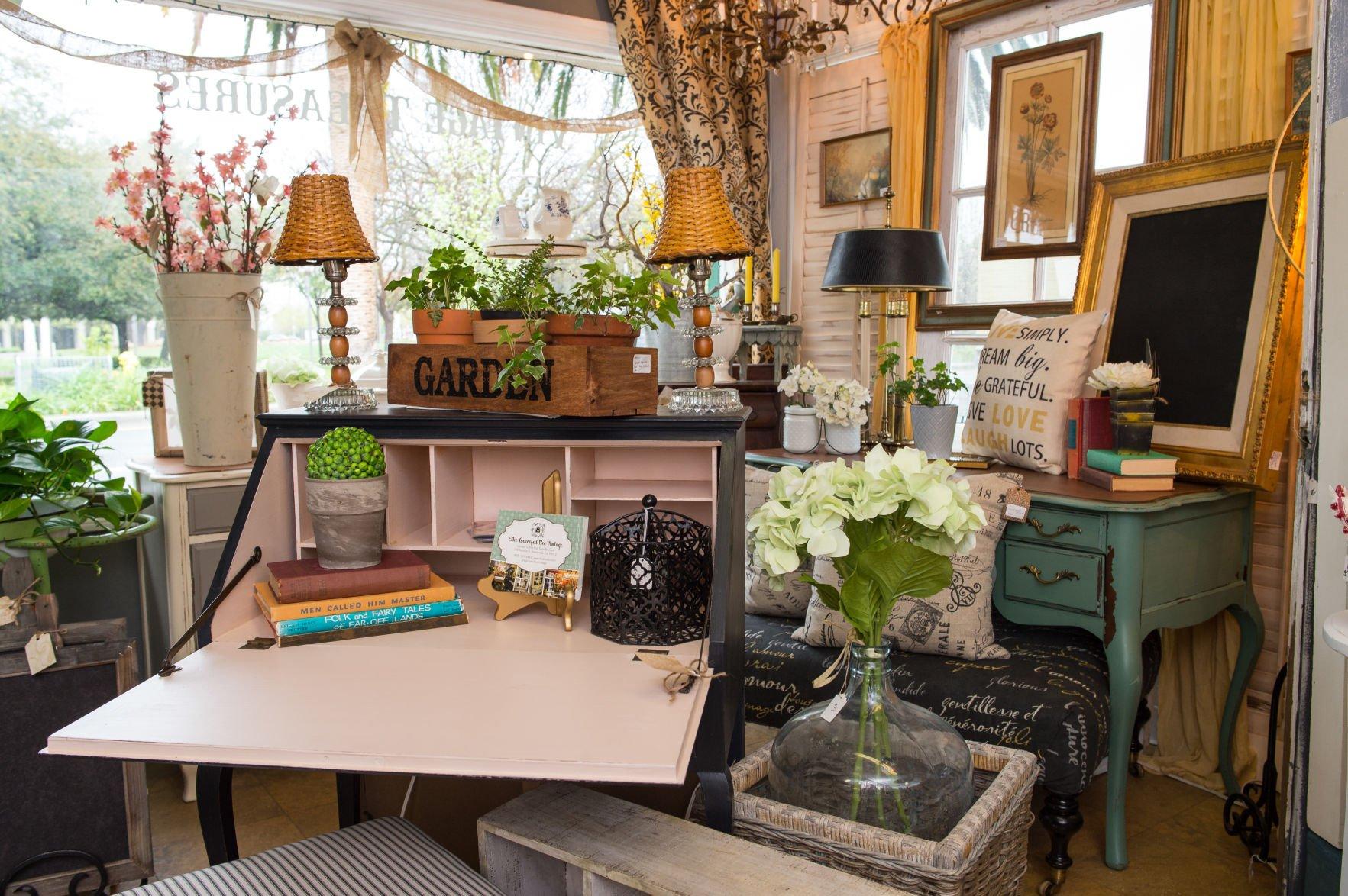 Go vintage at Pink Door Boutique Vintage Treasures Features