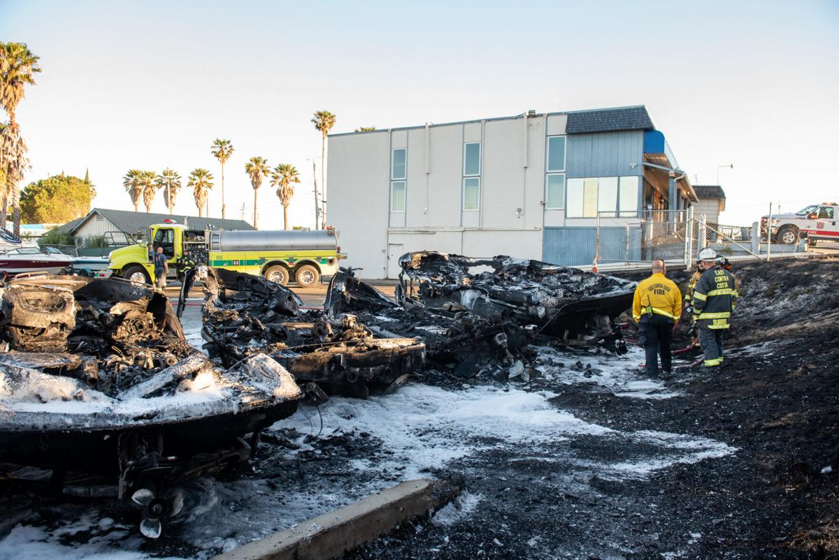 Marine Emporium Boat Fire