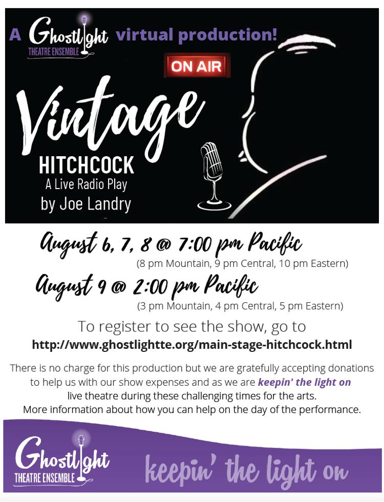 Ghostlight Theatre Ensemble Presents