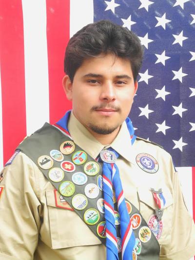 Eagle Scout Brandon Lopez