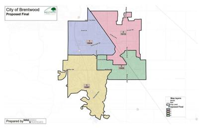 Brentwood voting maps