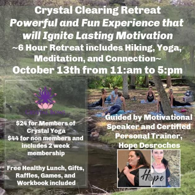 Cystal Clearing Retreat