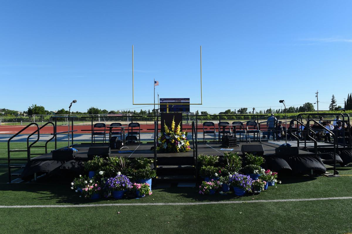 Freedom HS graduation