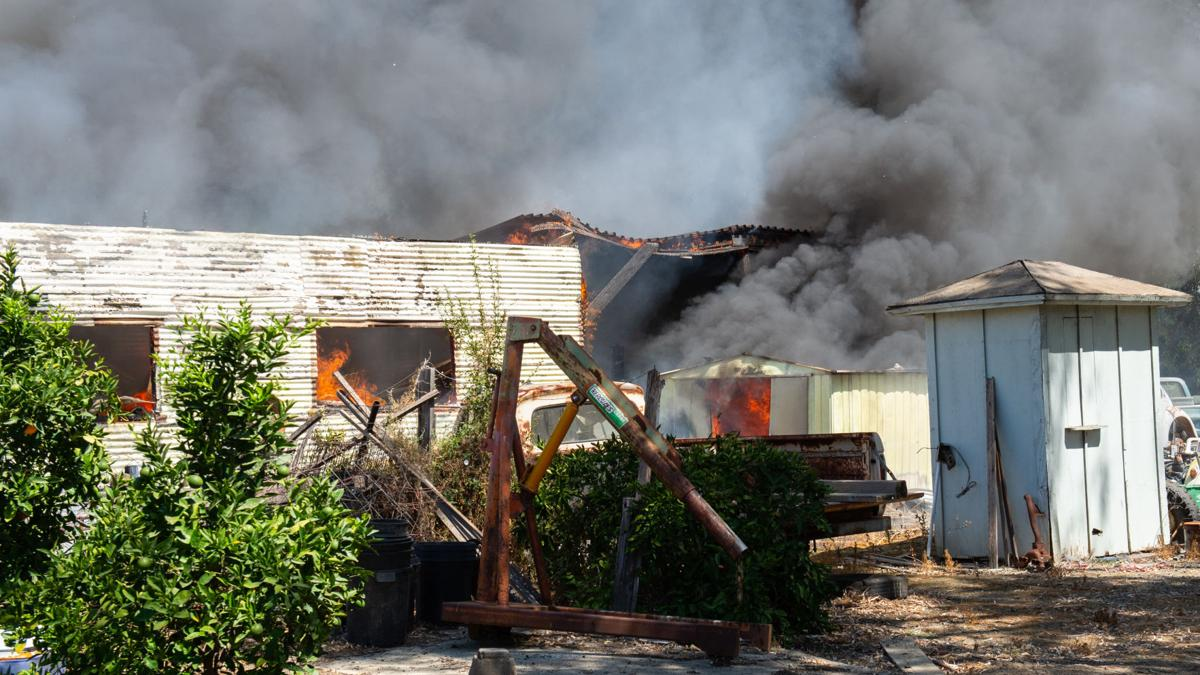 [Photos] Knightsen residential fire