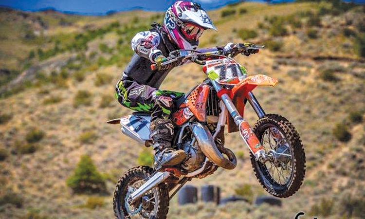 The Press archives: Motocrosser Hunter Cross 2013