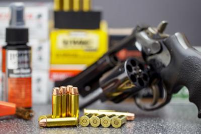 Gun and ammo