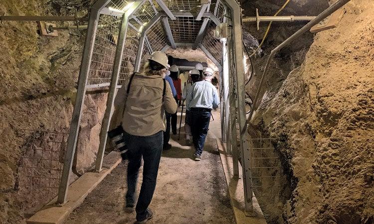 Mine exhibit opens at Black Diamond Park - tour