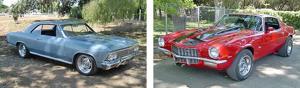 Chevelle and Camaro