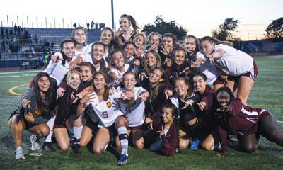 Lions wrap up league soccer crown - girls team