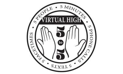 Virtual High Five to Five logo
