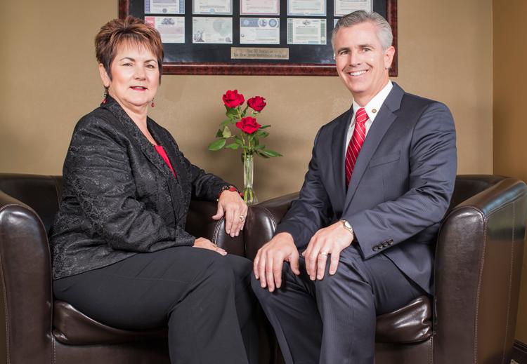 Apex financial advisors Treva Black and David Roche