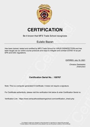 MFS Certified