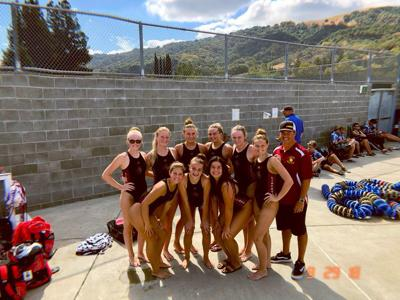 Liberty girls water polo