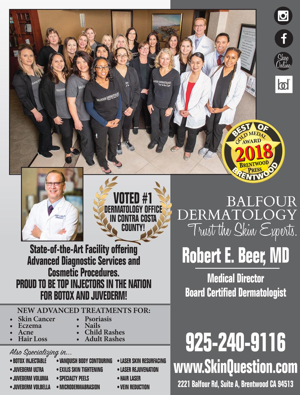 Balfour Dermatology | facial | skin | Brentwood, CA