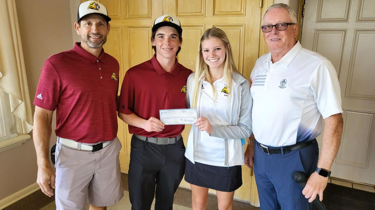 Liberty High golf team accepts $2,500 donation from Discovery Bay Senior Men's Golf invitational