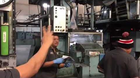 [Video] Southwest Offset Printing prints The Press newspapers
