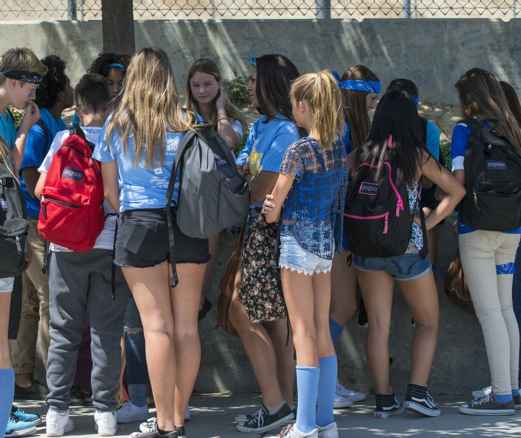 National School Walk Out: Students, Community Mourn Loss Of Classmate At Adams