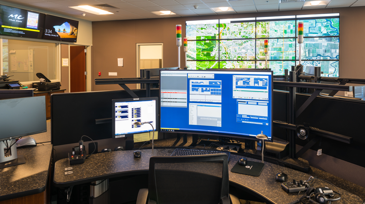 Brentwood Police Department S New Dispatch Station Opening