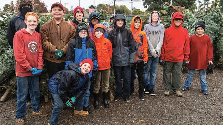 Tree-selling season off to a Grinchy start for Oakley Scouts