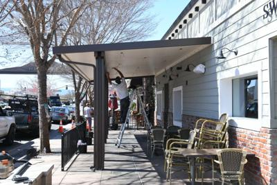 Downtown Brentwood Awnings
