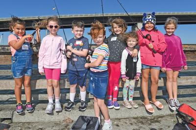 Anglers reel them in at Kids Fishing Derby