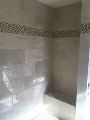 Marble Shower 1